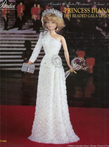 paradise crochet FASHION DOLL patterb