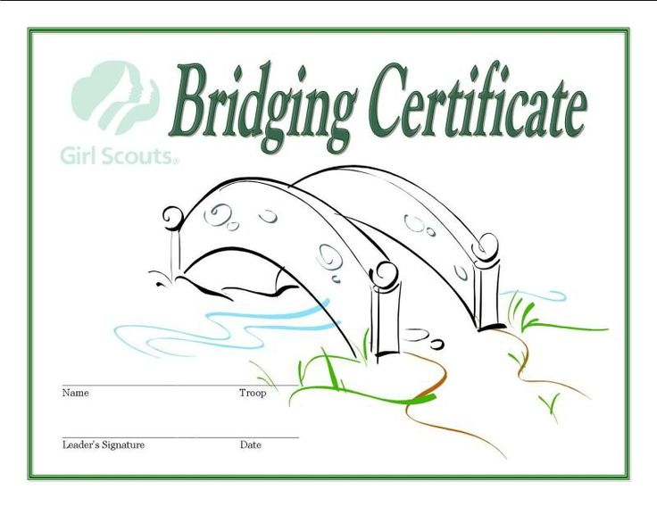 photo relating to Girl Scout Certificates Printable Free named Woman Scout Certification Templates. pin lady scout certification