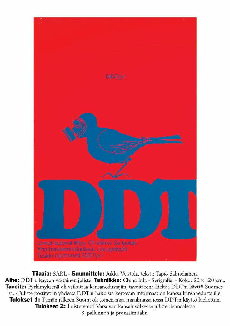 One more round for award-winning DDT poster – but where