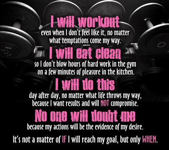 I Will Work-out!