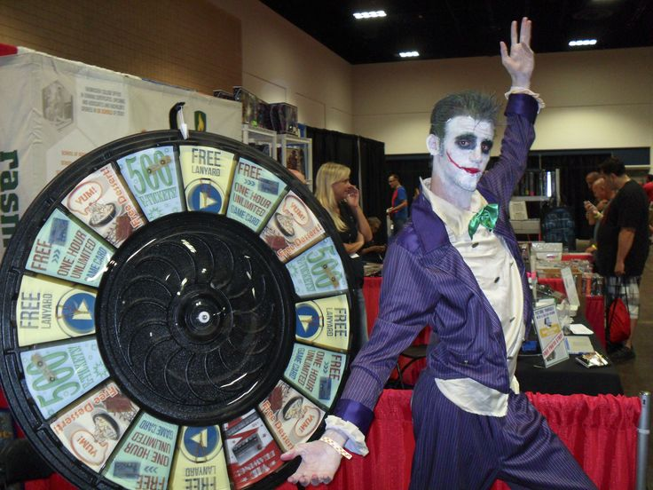 Joker Takes a Spin