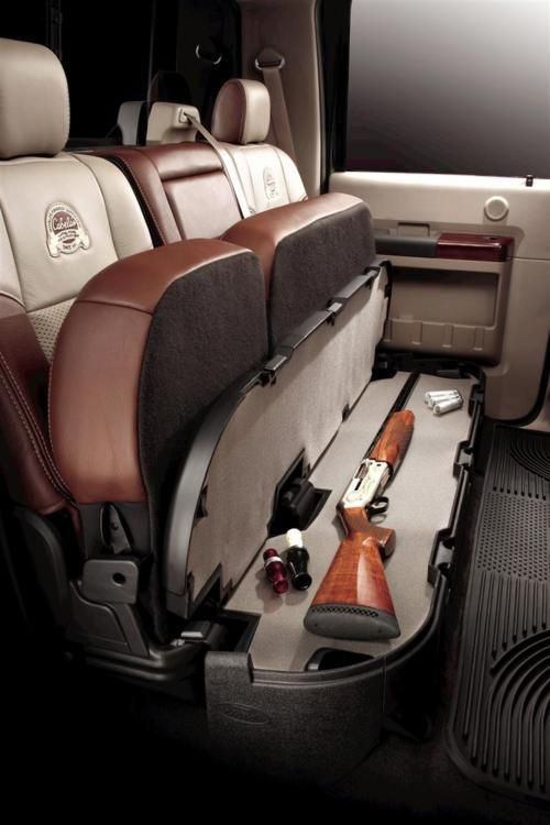 Jake's personal body guard suv truck gun safe ... very nice!