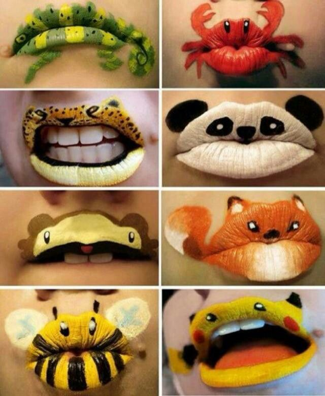 Would be cute halloween makeup