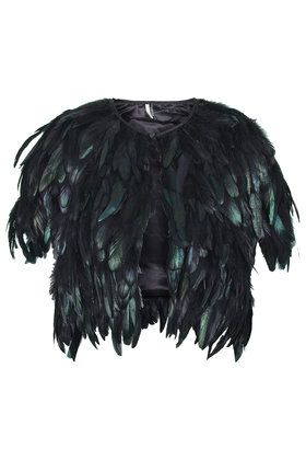 Shiny Feather Cape