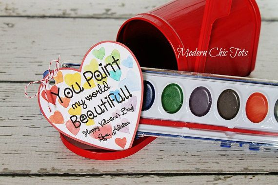 Valentine's Day Paint Printable