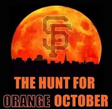 Go for it! SF Giants Orange October