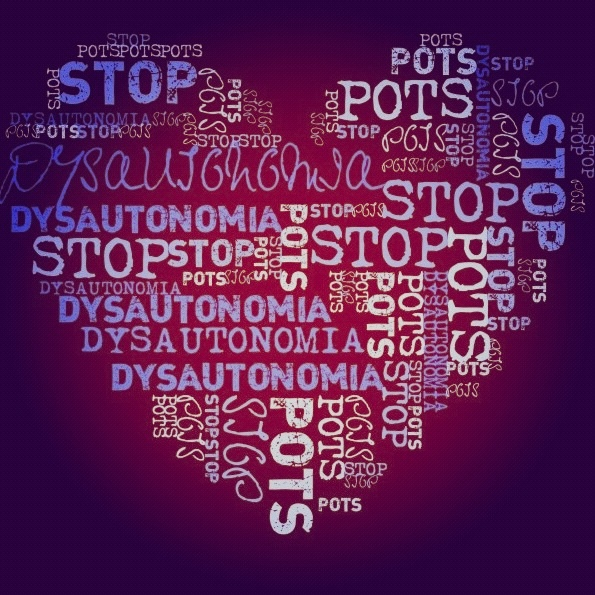 Raise awareness for Postural Orthostatic Tachycardia syndrome (POTs) #pots #eds #dysautonomia #spoonie #chronicillness