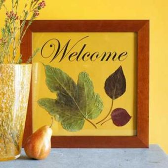 framed leaves http://www.decor4all.com/22-simple-fall-craft-ideas-diy-fall-decorations/17104/