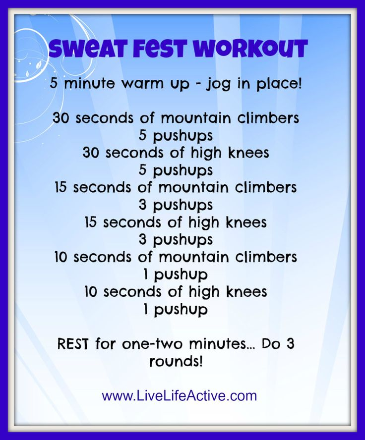 sweatfestworkout
