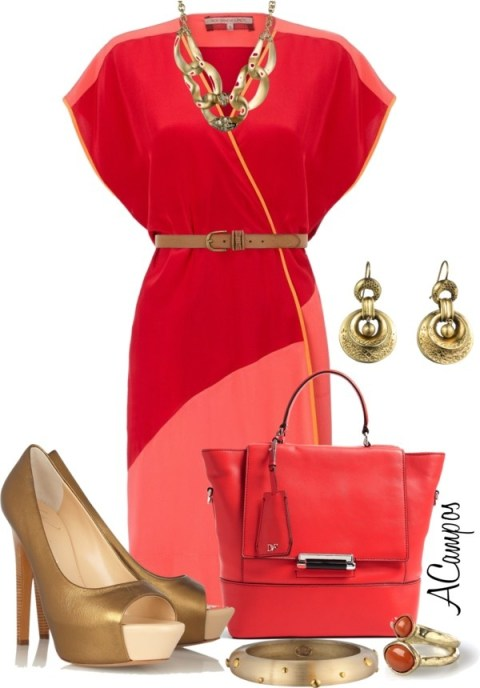 """Diane VonFurstenberg Bag Contest"" by anna-campos ❤ liked on Polyvore"