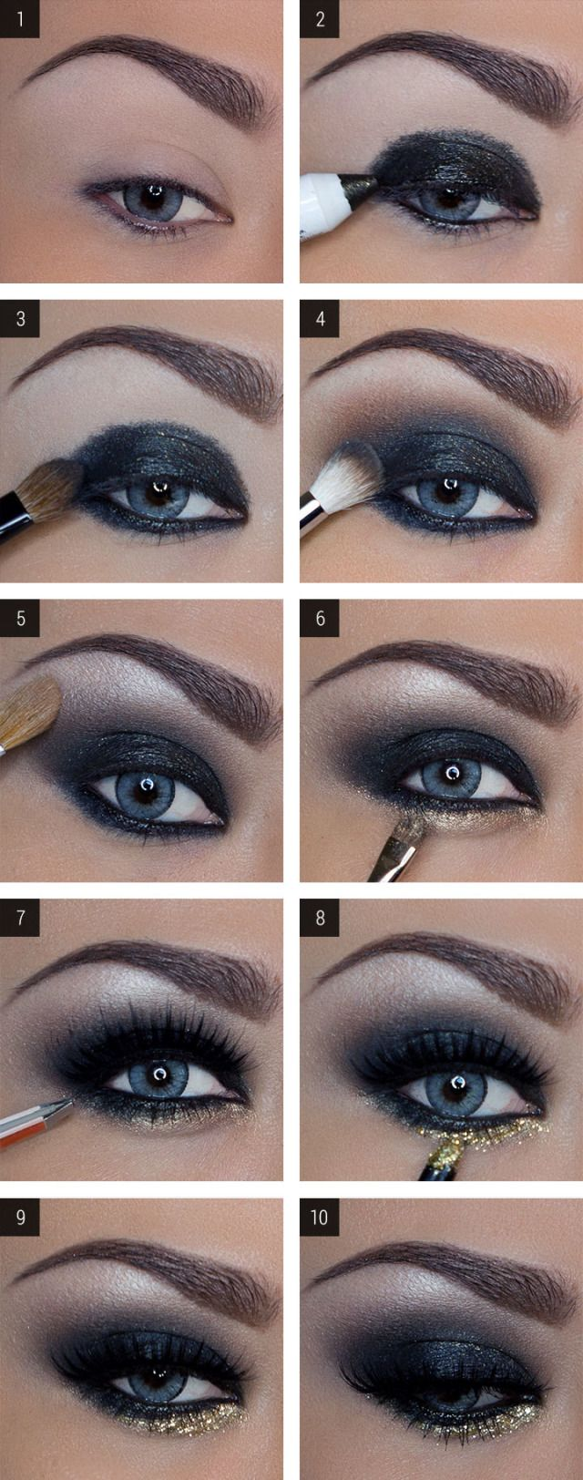 How to Do a Shimmery Smoky Eye Like a Pro