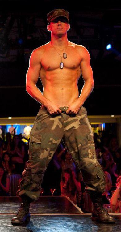 Hot damn! Channing Tatum