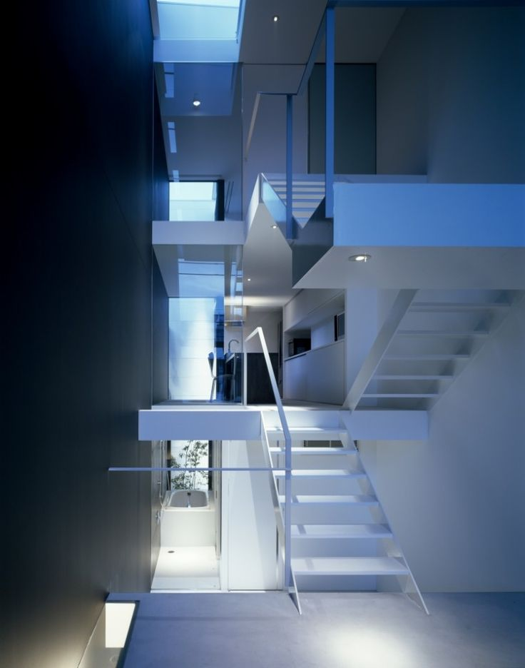 House in Showa-cho by Fujiwaramuro Architects.