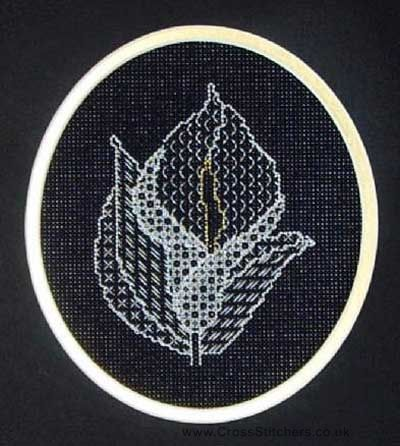 Calla Lily - Blackwork Kit By X-Calibre Designs