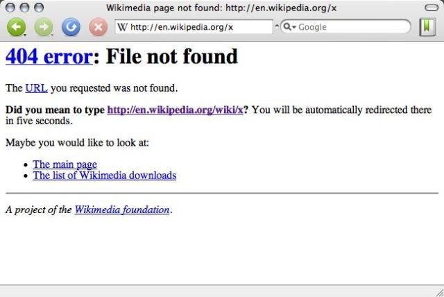 技巧四:客製化404錯誤頁面