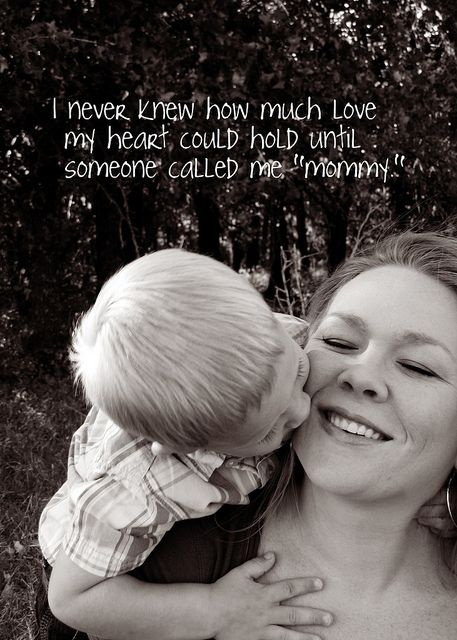 exactly how i feel! being a mommy is such a blessing.. its so wonderful!!!!! :))))