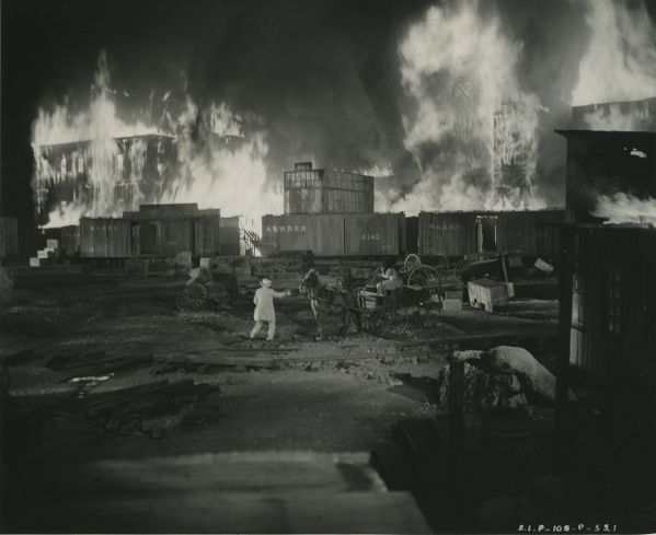 the burning of Atlanta See Behind the Scenes of Gone With the Wind on its 75th Anniversary - LightBox
