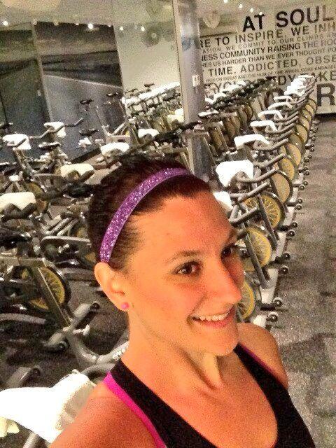 @Olivia García García Ward: LOVING my @SPARKLYSOULINC headband!! Stay tuned to http://myfitspiration.com/ for full review! #sparklysoulinc #fitspiration