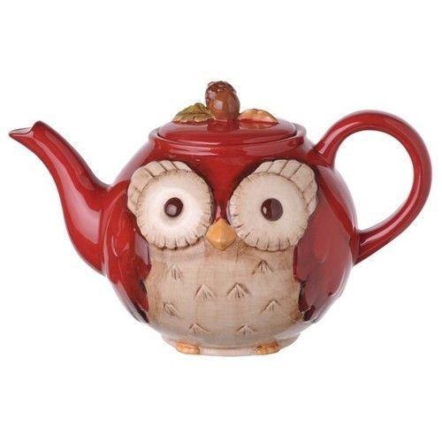 owl teapots | Whimsical Owl Teapot!