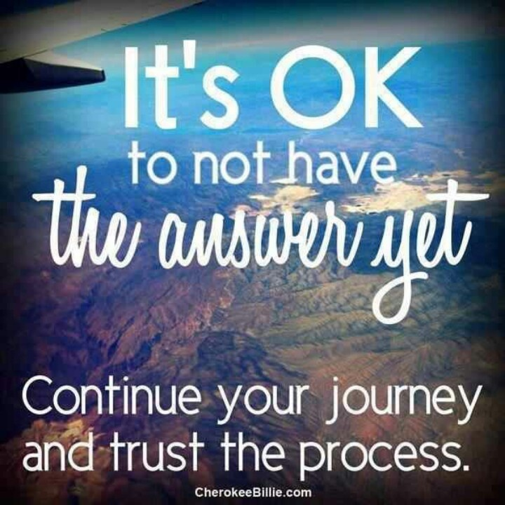 Image result for quotes about trusting the process