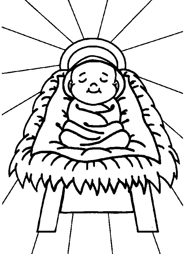 baby jesus coloring pages catholic kids crafts pinterest