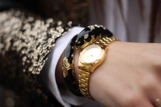 beautiful, black, bracelet, classy
