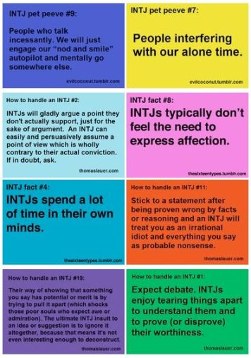 meyers-briggs personality
