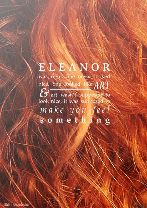 Eleanor and Park by Rainbow Rowell. Such a good/sad book.