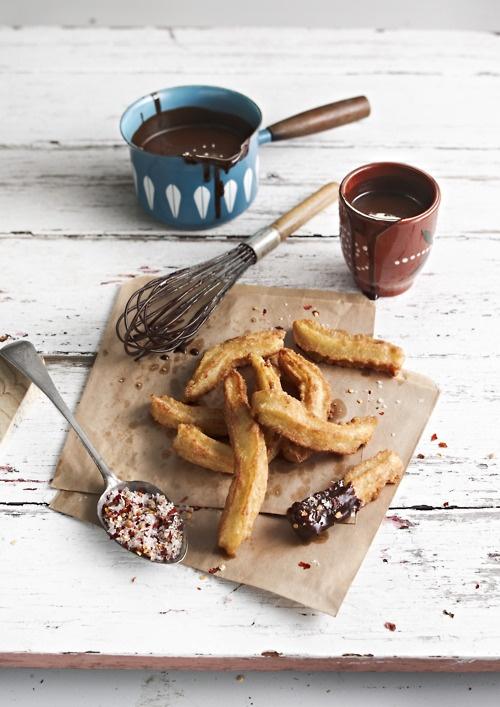 Churros y Chocolate w Chilli