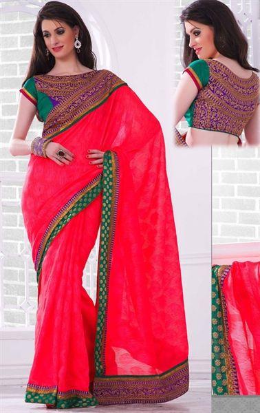 pin by wardrobe on stylish party wear sarees pinterest