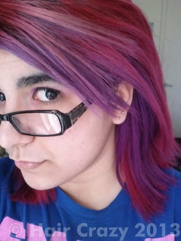 Ion Color Brilliance Brights Purple Hair