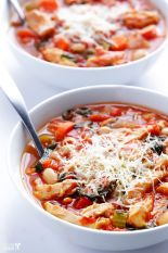 This Tomato Basil Chicken Stew by Gimme Some Oven could easily become a family favorite.