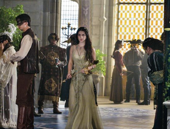 Morgana's Huntress costume for her first Masque where she meets Alasdair