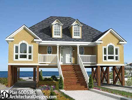 Small beach house plans