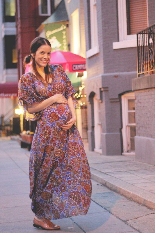 maternity street style