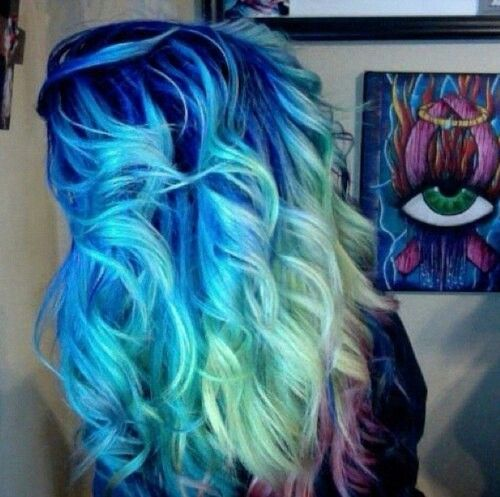 inspirations bright ombre