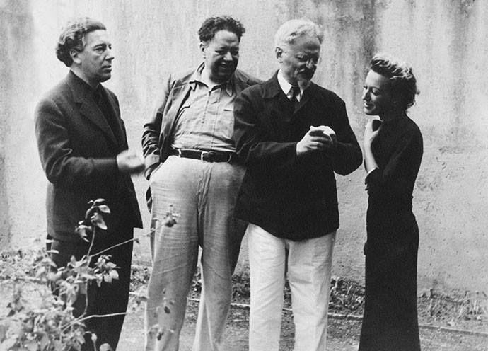 Breton, Rivera, Trotsky & Jacqueline Lamba