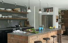 23 of the Best Rustic Industrial Kitchen That Will Attract Your Attention