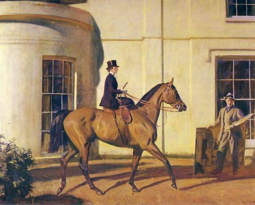 My wife, My Horse and Myself. by Alfred Munnings