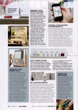 Real Home Magazine - Certainly Wood