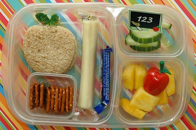 First day of kindergarten lunch