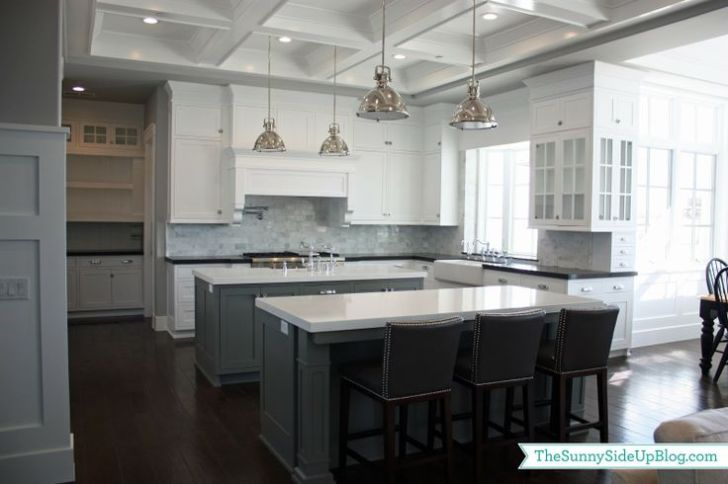 Double Islands Kitchen Home