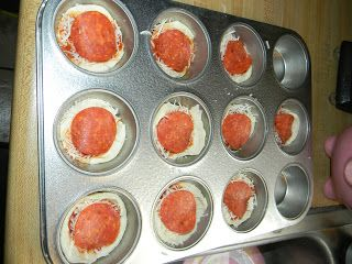 Growing to Four: Cupcake Pizzas