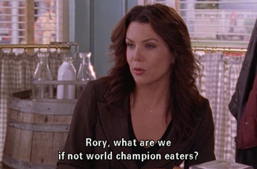 What are we if not world champion eaters?
