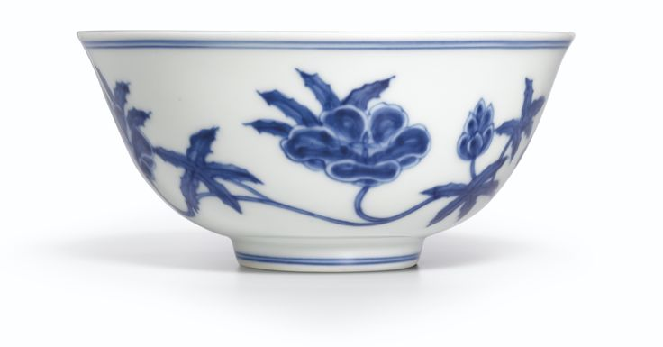 A SUPERB BLUE AND WHITE PALACE BOWL<br>MARK AND PERIOD OF CHENGHUA | Lot | Sotheby's