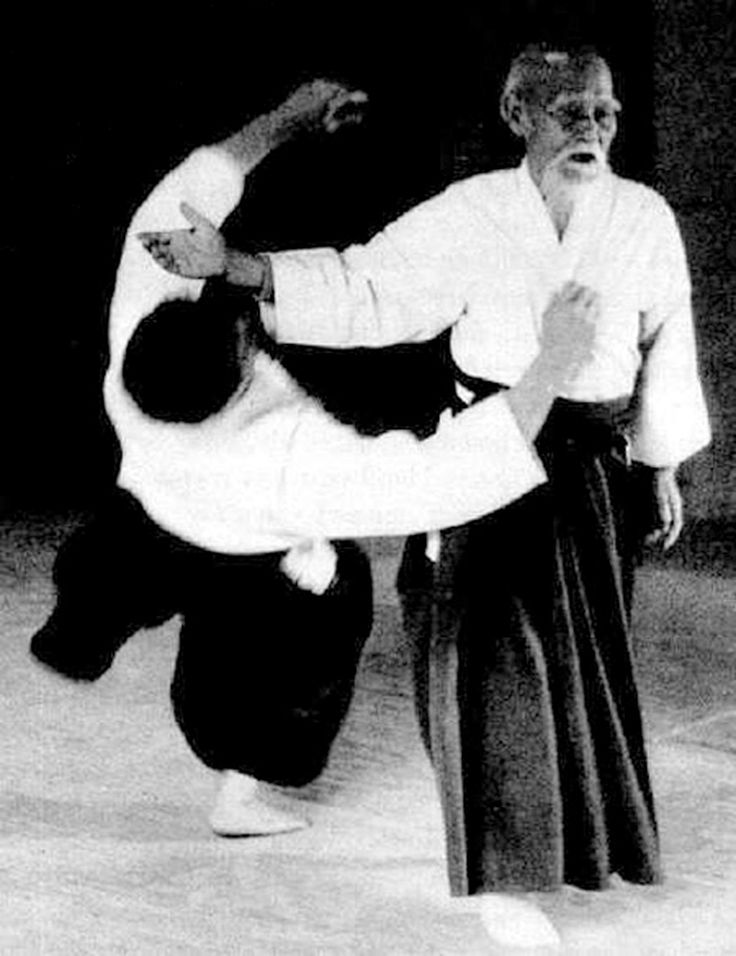 Aikido is a martial art that doesn't require strength and can be practiced and used far into old age, which is good because it take that long to master.