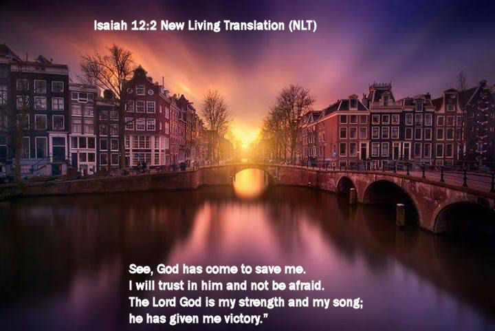 Isaiah 12.2 New Living Translation (NLT)