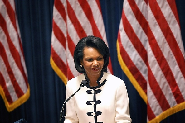 Condoleezza Rice. #ParksandRec