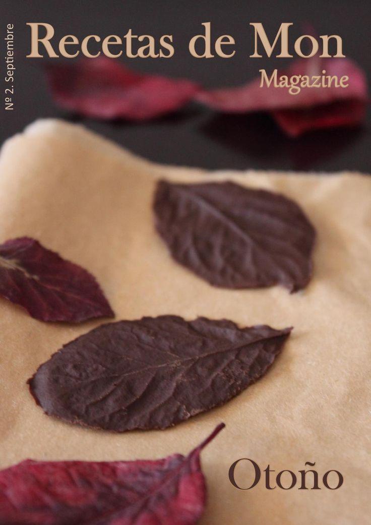 Recetas de Mon Magazine, n2. Otoño 2012  Magazine de recetas fáciles y con productos de temporada y espacio dedicado a la restauración