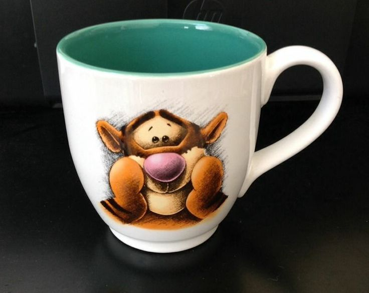 Image result for tigger coffee mug 20 0z